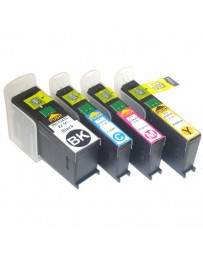 MULTIPACK 4 ( BK, C, M, Y ) - Remanufactured Inkjet Cartridges Primera 53422 - 53425