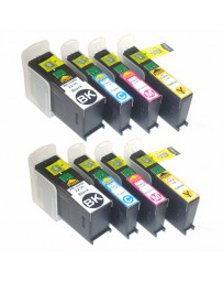 MULTIPACK 8 ( BK, C, M, Y ) - Remanufactured Ink Cartouche Toner Primera 53422 - 53425