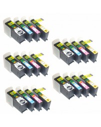 MULTIPACK 20 ( BK, C, M, Y ) - Remanufactured Ink Cartouche Toner Primera 53422 - 53425