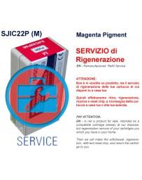Servizio di Ricarica Cartuccia  MAGENTA  Pigment - Epson SJIC22P (M) - 32,6 Ml
